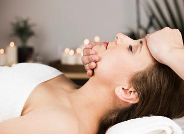 massage bien-être visage à domicile