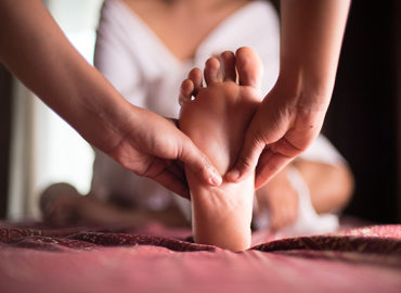 massage thai des pieds à domicile